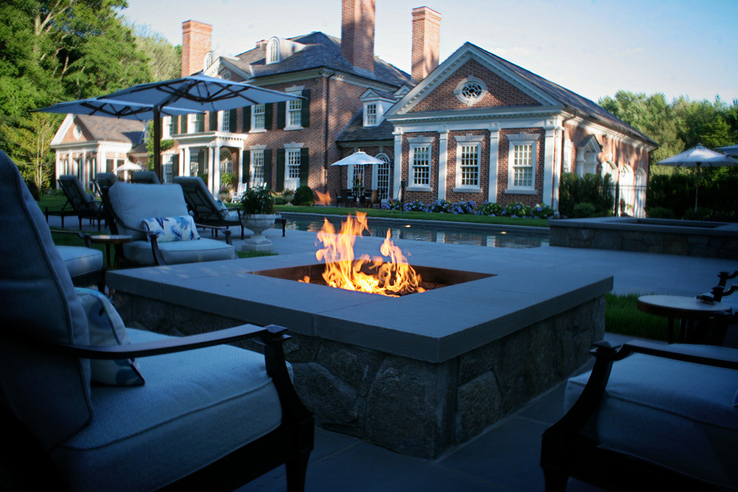 Custom Fire Pit Design in CT